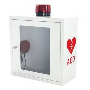 Szafka na defibrylator AED z alarmem akustycznym i świetlnym (ASB1020)